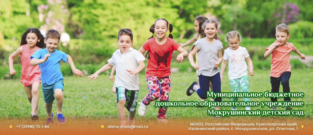 МБДОУ Мокрушинский детский сад